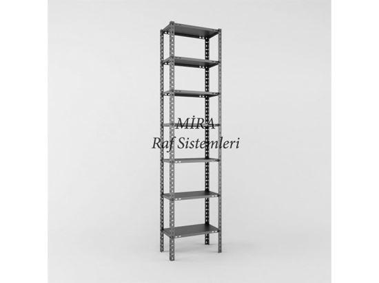 Çelik Raf 31x60x250 7 Raflı. ürün görseli