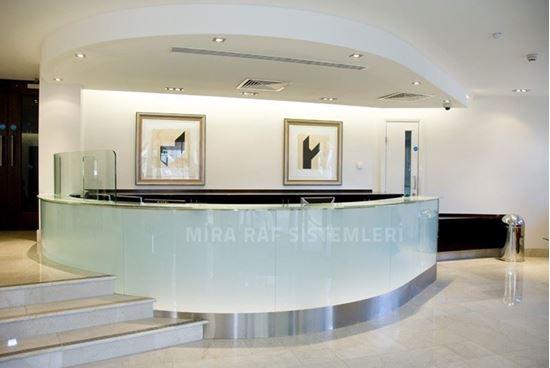 Pleksi Otel Bankosu. ürün görseli