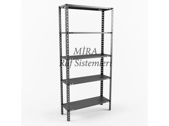 5 Raflı Çelik Raflar ve Fiyatları 31 Serisi. ürün görseli